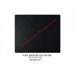 PLATE, F/MTG 2200 DRO