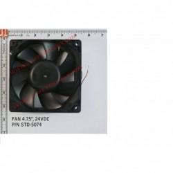 """FAN 120mm (4.75"""") 24VDC"""
