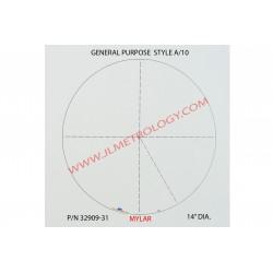 MYLAR GENERAL PURPOSE CHART