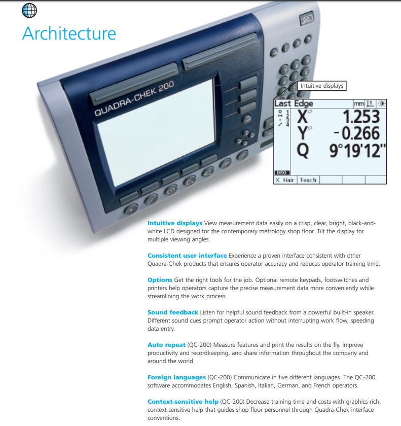QC-200 Features